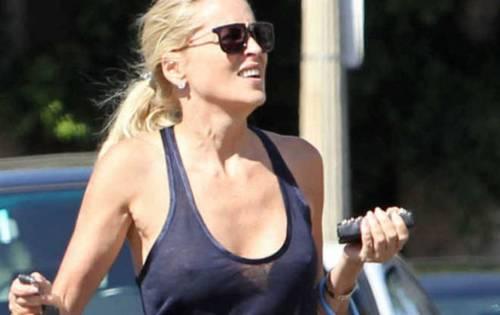 Madonna e Sharon Stone: sexy dive a confronto 16