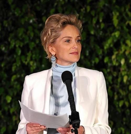 Madonna e Sharon Stone: sexy dive a confronto 31