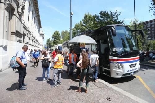 Milano, agente Polfer aggredito da migrante 10