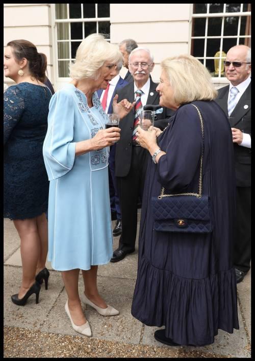 Il ricevimento per il 70esimo compleanno di Camilla 3
