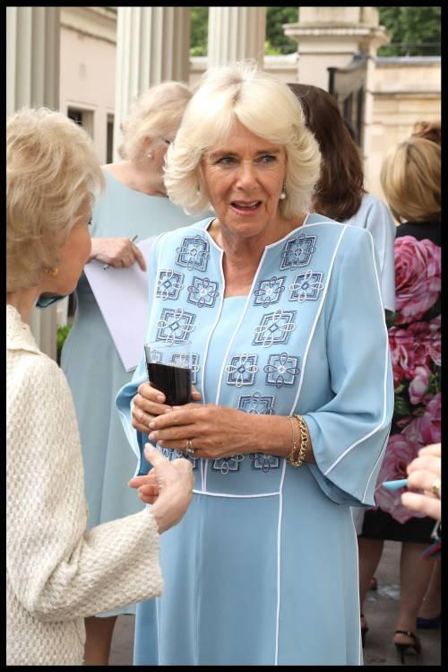 Il ricevimento per il 70esimo compleanno di Camilla 4