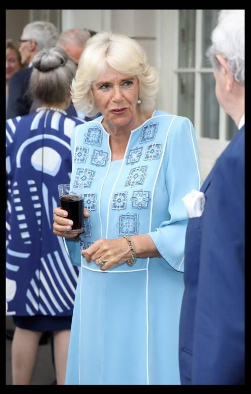 Il ricevimento per il 70esimo compleanno di Camilla 6