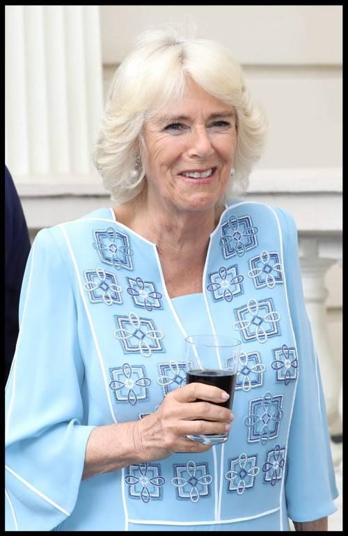 Il ricevimento per il 70esimo compleanno di Camilla 7