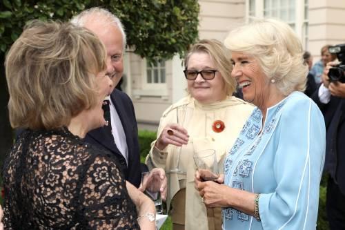 Il ricevimento per il 70esimo compleanno di Camilla 2
