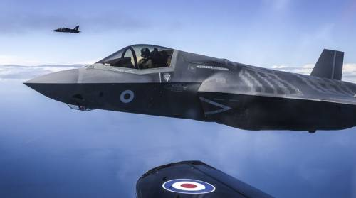 Vola il nuovo F-35 e nessuno ne parla