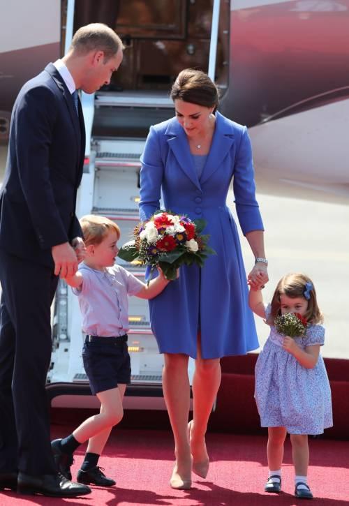 Il viaggio europeo di William e Kate: i look della duchessa 7