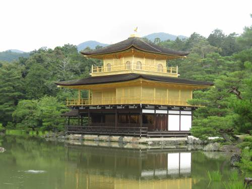 Dalla Terra al Cielo, il Padiglione d'Oro a Kyoto 4