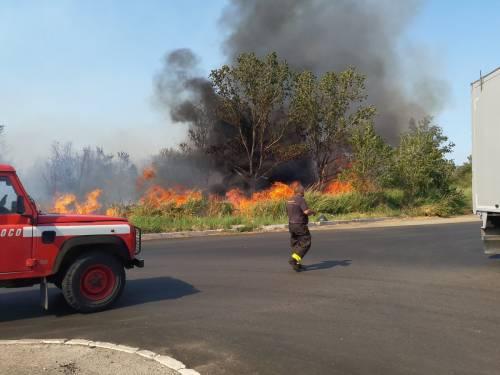Incendio a Termoli, evacuato stabilimento Fiat 2