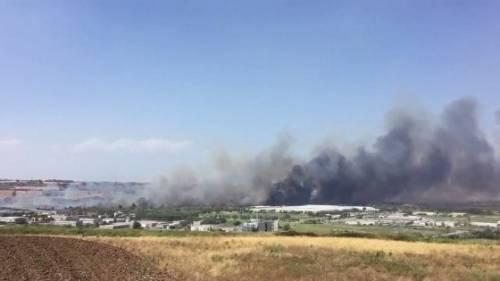 Incendio a Termoli, evacuato stabilimento Fiat 4