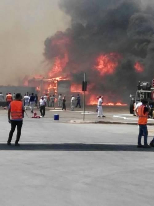 Incendio a Termoli, evacuato stabilimento Fiat 5
