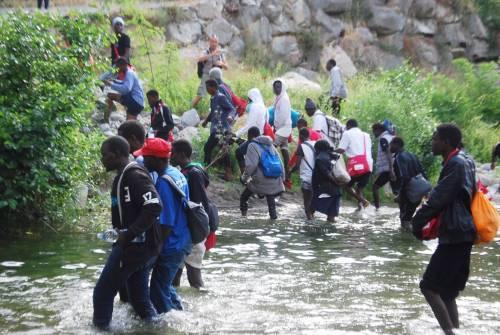 Ventimiglia in mano ai migranti: è caos 2