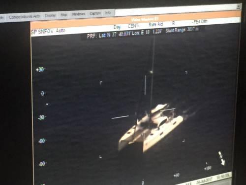 A bordo degli aerei di Frontex, a caccia di trafficanti di uomini 10