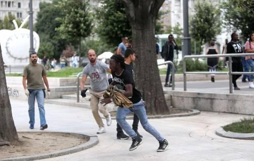 Migranti, nuovo blitz della polizia in stazione Centrale 2