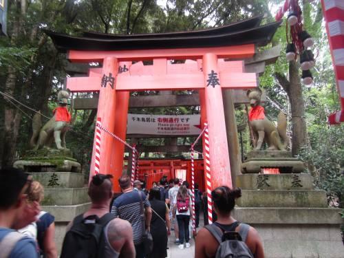 Le mille porte di Fushimi Inari, dove vive lo spirito della volpe 2