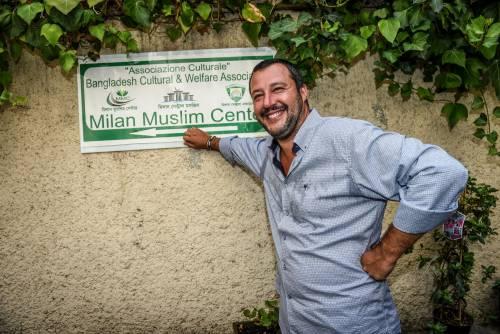 Moschea di via Cavalcanti, il presidio della Lega 5