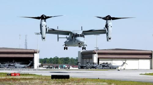 Il Giappone dà il via libera agli Usa per il decollo degli aerei Osprey