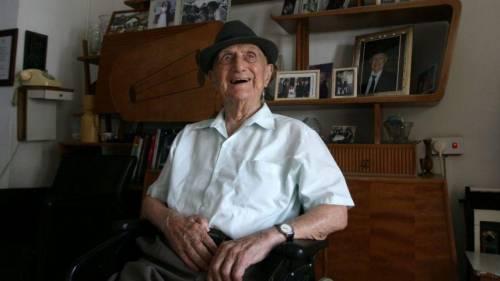 È morto Yisrael Kristal, l'uomo più vecchio del mondo