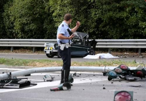 Incidente mortale a Milano 5