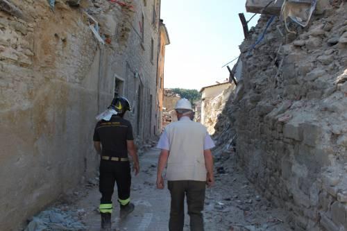 Amatrice, viaggio nella città sommersa dalle macerie ad un anno dal sisma 4