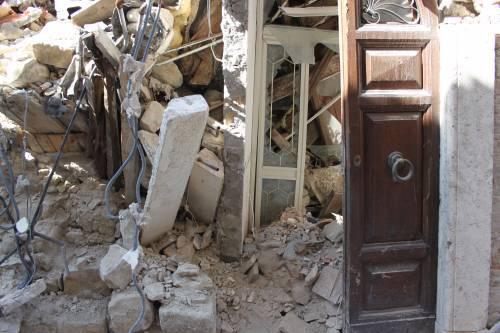 Amatrice, viaggio nella città sommersa dalle macerie ad un anno dal sisma 10