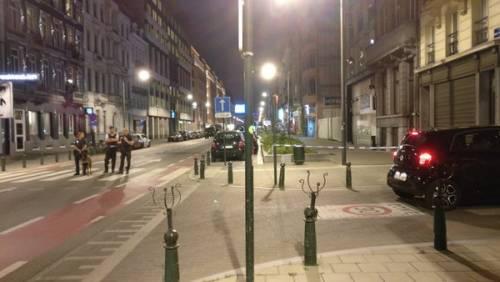 Attacco col coltello nel centro di Bruxelles 3