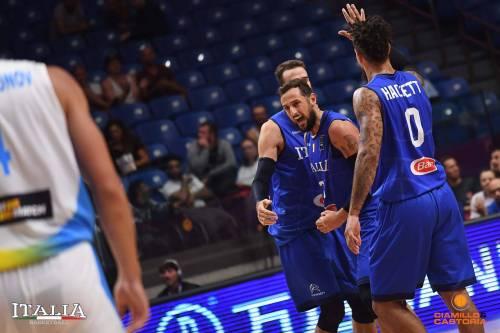 Europei, Belinelli traina la Nazionale e l'Italbasket affonda l'Ucraina