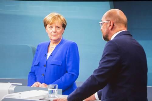 """""""La Turchia non entrerà nella Ue"""". Merkel vince il confronto con Schulz"""