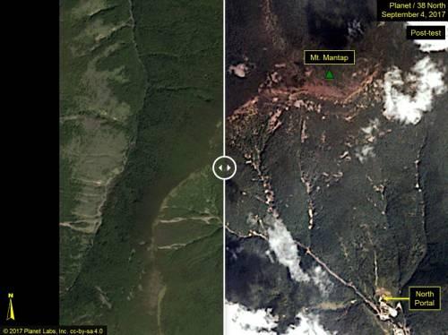 La bomba di Pyongyang è 10 volte più forte di Hiroshima