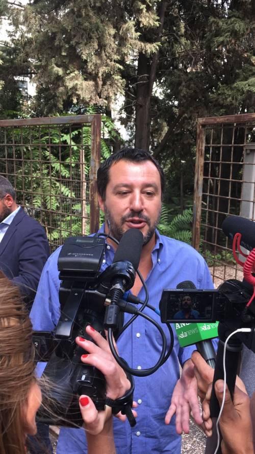 """Salvini: """"Vicenda molto strana, dubito che si sia trattato di stupro"""""""