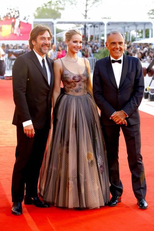 Jennifer Lawrence come una principessa a Venezia 5