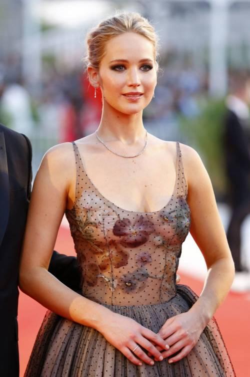 Jennifer Lawrence come una principessa a Venezia 6