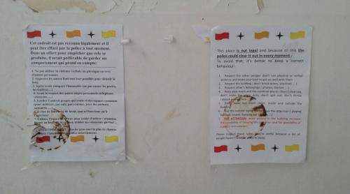 Biella, le foto dello stabile occupato dagli immigrati 11