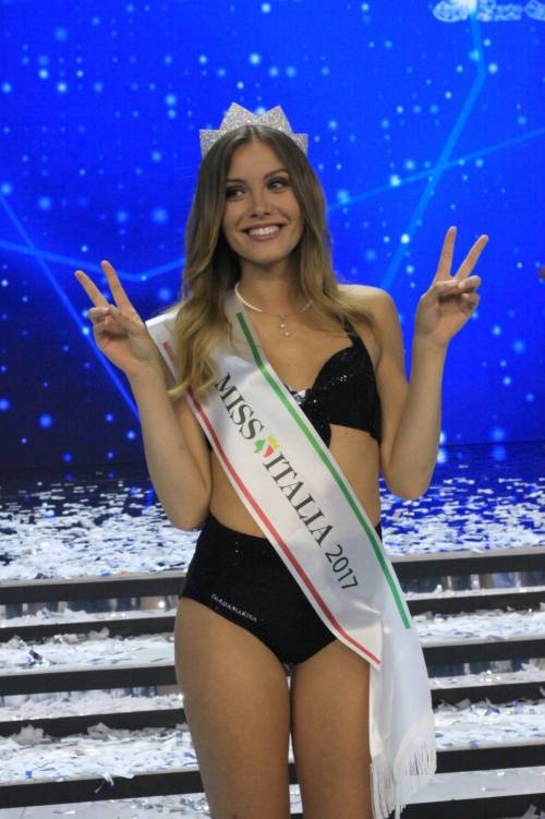 Miss Italia 2017 è Alice Rachele Arlanch  18