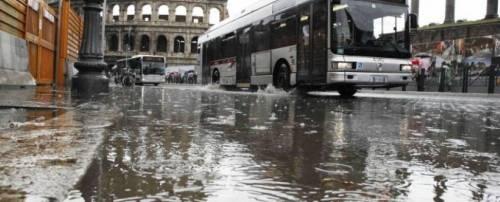 I danni del maltempo a Roma 2