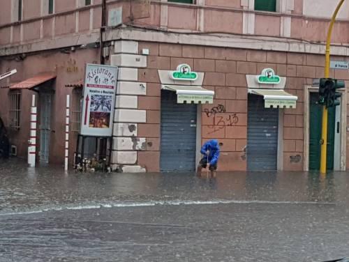 I danni del maltempo a Roma 1