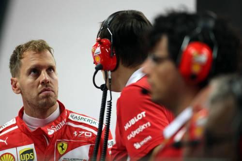 """Gp Singapore, Vettel: """"Mia partenza regolare"""""""