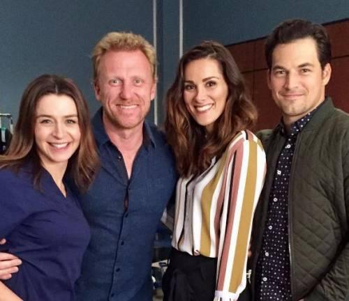"""Da Catania a Los Angeles, Stefania Spampinato sul set di Grey's Anatomy: """"Vi presento la nuova stagione"""""""