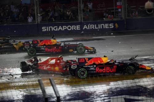 Gp Singapore, ecco la telemetria Cosa è successo davvero in pista