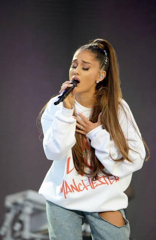 """Ariana Grande: """"Dopo Manchester soffro di stress post traumatico"""""""