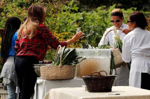 Melania Trump come Michelle: fa l'orto alla Casa Bianca 4