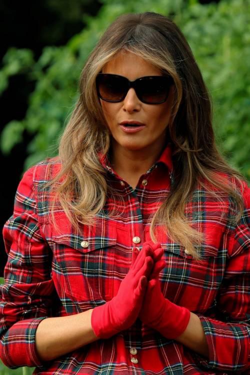Melania Trump come Michelle: fa l'orto alla Casa Bianca 7