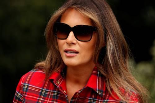 Melania Trump come Michelle: fa l'orto alla Casa Bianca 8
