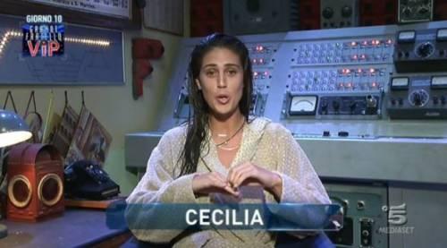 "Gf Vip, Cecilia Rodriguez offende Teresanna: ""È una cretina"""