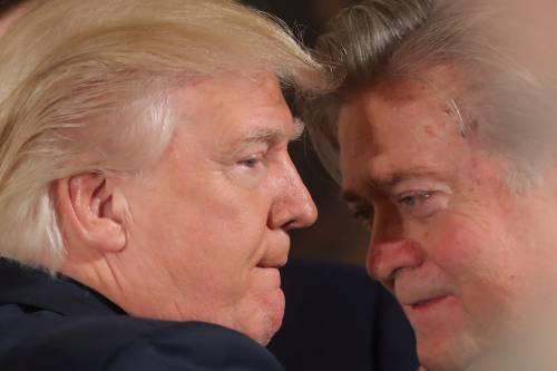 """Bannon chiede scusa """"Trump jr patriota e per bene"""""""