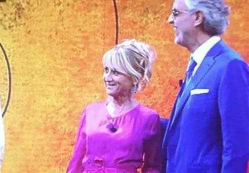 Luciana Littizzetto e la gag con Bocelli che gela il pubblico