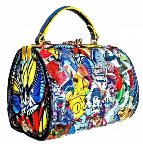 Ecco la borsa premiata al Mipel: la Pop Bag riflette la luce di Warhol
