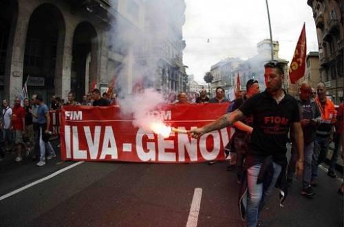 Ilva in sciopero  2