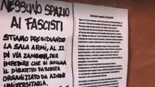 Bologna, i collettivi la spuntano di nuovo: annullato convegno di Azione universitaria
