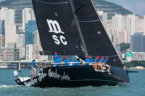 Mascalzone Latino conquista la Volvo Hong Kong to Vietnam