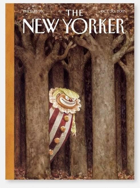 Trump come It: la copertina del New Yorker